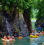Excursion de Rafting au Costa Rica