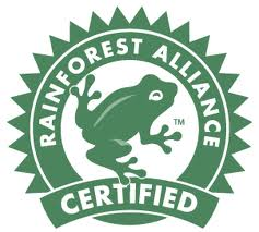 Sceau de certification pour le tourisme durable du Rainforest Alliance