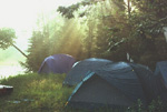 Nature Camping in Quebec